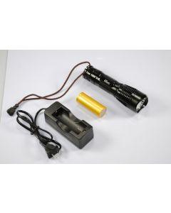 UniqueFire UF-2180 Cree XM-L T6 3-Mode 1200 Lumen paměti LED svítilna včetně battry & nabíječka