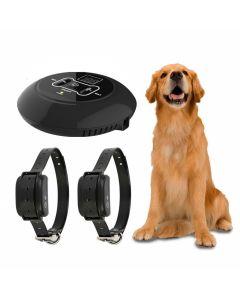 Nový bezdrátový elektronický pet pes plot systém a pes školení límec pípnutí šok vibrační trénink a plot funkce