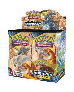 360ks Pokémon TCG: Sun & Moon Unbroken Bonds Booster Box Obchodování sběratelských karet