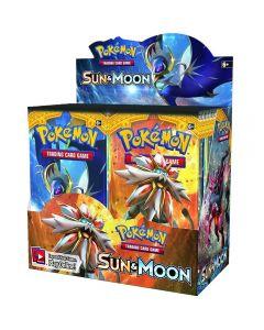 Pokemon Karty TCG: Sun & Moon Booster Box Obchodní karta 36 balení