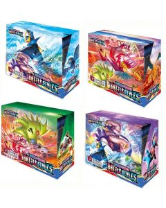 2021 NOVÉ 4x360ks Pokémon TCG: Sword & Shield Battle Styles Booster Box Trading Card Game Collection Hračky