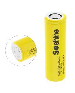 Soshine IMR 21700 baterie 3.7V 14.8WH 4000mAh Li-ion Dobíjecí baterie