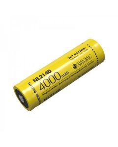 NITECORE NL2140 4000mAh 3.6V 14.4Wh 21700 Li-ion dobíjecí baterie