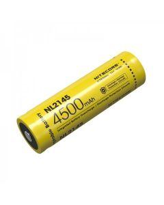 NITECORE NL2145 4500mAh 3.6V 16.2Wh 21700 Li-ion dobíjecí baterie