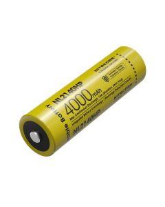 NITECORE NL2140HP 4000mAh 3.6V 14.4Wh 21700 Li-ion dobíjecí baterie