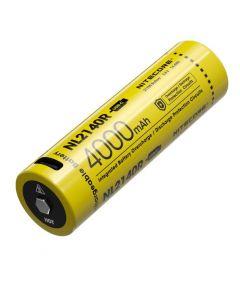 NITECORE NL2140R 4000mAh 3.6V 14.4Wh 21700 USB-C Li-ion dobíjecí baterie