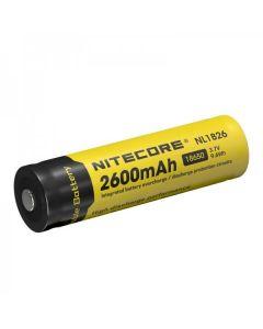 Nitecore 18650 NL1826 2600 3.7v 9.6Wh Li-ion dobíjecí baterie