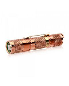 Lumintop Tool AA 2.0 Měděný Cree XP-L HD LED 650 lumenů AA/14500 EDC svítilna