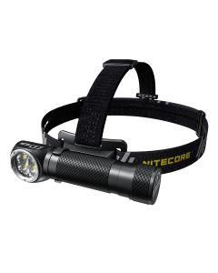 NITECORE HC35 4 x CREE XP-G3 S3 LED 2700 lumenů 4 metry 21700 akumulátor USB nabíjecí světlomet