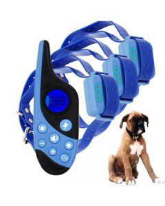 2021 Nový 500m elektrický psí tréninkový obojek Pet Dálkové ovládání Vodotěsné Dobíjení s LCD displejem pro všechny velikosti Shock Vibration Sound