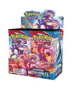NOVÝ 360ks Pokémon TCG: Sword & Shield-Battle Styly s rukávy Booster Pack