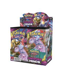 Pokemon TCG: Unified Minds Sealed Booster Box Sběratelské obchodní karty 36 balení