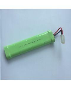 Ni-MH 2500mAh 9.6V SC *8 RC bílý konektor baterie