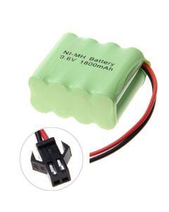 Ni-MH AA sm konektor 9.6V 1800mAh Battery Pack