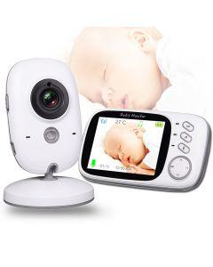 VB603 Bezdrátové Video Barva Baby Monitor s 3,2 palce LCD 2 Way Audio Talk Noční vidění Surveillance Bezpečnostní kamera Hlídání