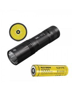 Nitecore R40 V2 CREE XP-L2 V6 LED 1200 lumenů USB dobíjecí 21700 Baterie Baterka