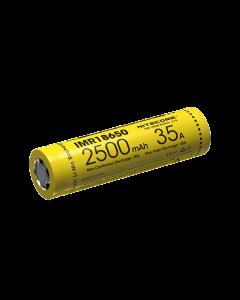 NITECORE IMR18650 2500mAh 35A dobíjecí baterie-1ks