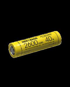 NITECORE IMR18650 2600mAh dobíjecí baterie 40A-1ks