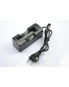 Singl 18650 akumulátory nabíječka baterií