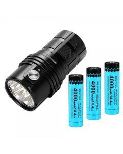 IMALENT MS06 6 CREE XHP70.2 25000 lumenů LED svítilna