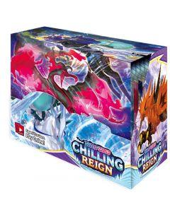 360pcs Pokémon TCG: Sword & Shield Chilling Reign Booster Display Box Collection Kartová hra Hračka Dětský dárek