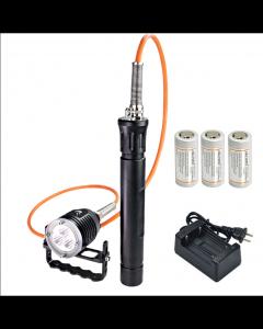 ARCHON DH30 II & WH36 II 3 * CREE XM-L2 U2 3 režimy 3600-Lumes 0m LED kanystr potápění světlo