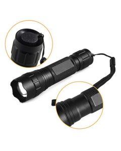 UltraFire WF-501.2 Osram Infračervený IR 850nm LED zoomovatelný svítilna LED
