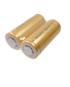 Vysoká kapacita 26650 4000mAh Li-ion Dobíjecí baterie (1 pár)