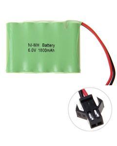 Ni-MH AA 1800mAh 6V Velký SM Plug Baterie