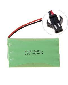 Ni-MH AA 9.6V 1800mAh velký SM konektor baterie