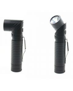 USB dobíjecí LED CREE XM-L T6 700 lumenů reflektor nastavitelný magnet baterku pochodeň