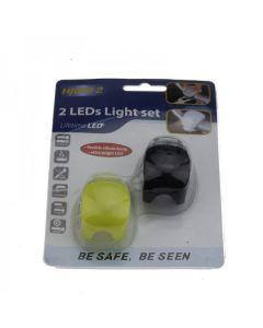 HJ008-2 2-indikátory LED 3 – černé světlo s multifunkční cyklistickou zadní světlem