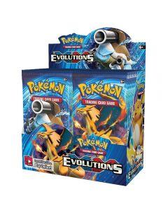Pokemon TCG: XY Evolutions zapečetěný booster box sběratelské obchodní karty 36 balení