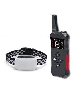 2021 NOVÝ psí tréninkový obojek s dálkově dobíjecím vodotěsným šokovým límcem pro psy 3 tréninkové režimy, vibrace pípnutí a šok