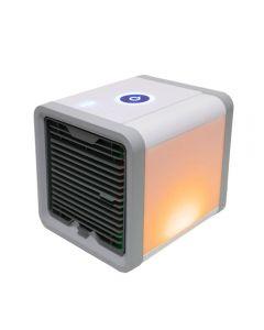 USB Mini přenosný klimatizační přístroj zvlhčovač 7 barev lehký stolní počítač chlazení vzduchem chladicí ventilátor větrák pro domácnost