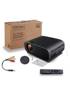 LED video projektor HD 720P přenosný HDMI Volitelná podpora Android Wifi Beamer Full HD 80P Domácí kino