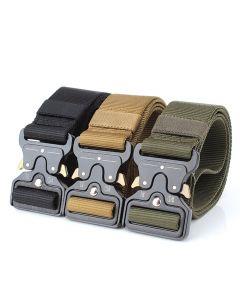 ENNIU taktické opasky Nylon opasek s kovovou přezkou nastavitelná těžká školení bederní pás lovecké Doplňky