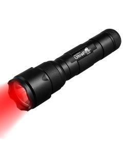 UltraFire WF-502B. 2 XP-E2 LED červená světelná svítilna