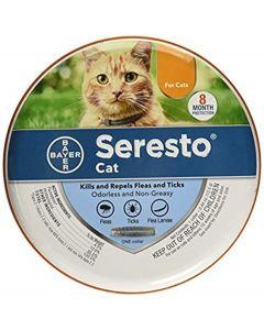 Seresto Bleší a klíšťový límec pro kočky, všechny závaží a velikosti