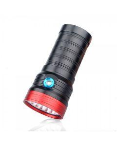 Sky Ray S 8 18T6 18xCree XM-L T6 15000-Lumen USB dobíjecí LED svítilna