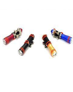 Archon mini D1A podvodní 100m potápěčská svítilna CREE XP-E R3 75 lumen potápění pochodeň moc vedením 1 x AAA baterie