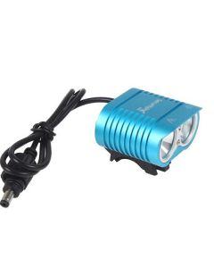 UniqueFire HD-016 2 * Cree XM-L2 4 režimy 1800 lumen LED Bike lehké kolo přední světla modrá
