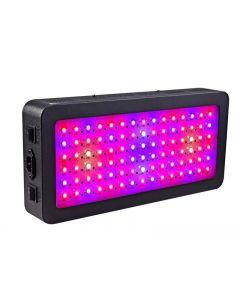 LED světla rostou, 600 w celé spektrum rostlin světlo s Switch, IR & UV rostoucí lampa stavebnice pro skleník hydroponické sazenice zeleniny a květin