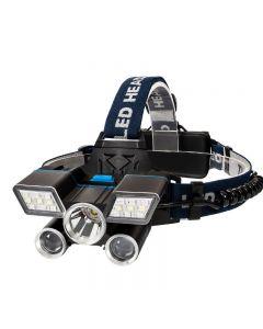 5LED světlomet USB nabíjecí táborové zvýšení nouzové osvětlení venkovní vybavení