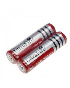 UltraFire BRC 3000mAh 3.7V 18650 baterie s pcb (1 pár)