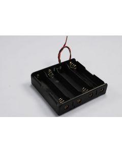 DIY baterie Box pro 4 * 18650 baterie