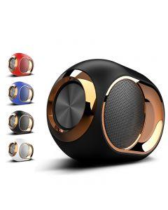 Golden Egg Bluetooth reproduktor, přenosný high-end bezdrátový reproduktor, 8 DB stereo bluetooth reproduktor mini bluetooth přehrávač, super silný subwoofer reproduktor