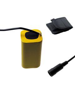 5521 DC rozhraní 8.4V 4 x 18650 8800mAh kolo lehké baterie LED kol přední světlo