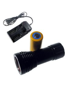 D32VR potápění světlo 2 x CREE XM-L T6 + 2 xCREE XP-E 100 metrů podvodní fotografování potápění baterka svítilna + 1 x 32650 + nabíječka