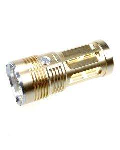 EternalFire král 3T6 3 * Cree XM-L T6 LED baterka 3000 lumenů 3 režimy LED baterka Glod-Light jednotka pouze